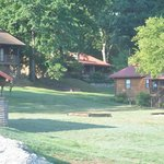 Cabins and grounds