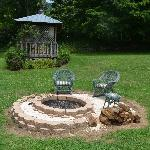 Fire Pit and Gazebo