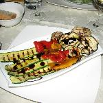 Grilled Veggies at Nessun Dorma, Cortona