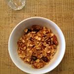 homemade granola- available 24/7 in dinning room - sooo delish!