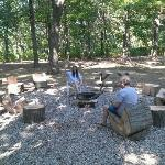 The best fire pit area and most original