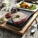  Tuna Steak on the Hot Stone