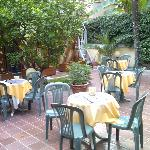  Hotel Select, Rome- Garden terrace
