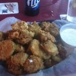 Fried Pickles Appetizer...mmmmm