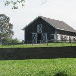 Barn on property