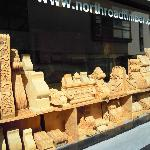 North Laine timber shop