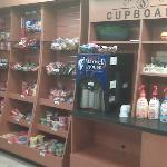  Snack store and free coffee