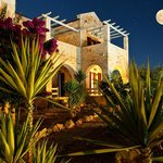 Villa Thalia under the moonlight
