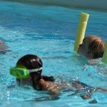  Pool sauber und schn gro mit Kinderbecker