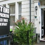 Ingresso West End Backpackers - Glasgow - Scozia