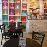 Inside Dining & Party Hats at SAS cupcakes