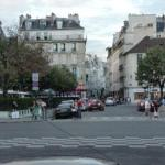 Area in Saint-Germain around hotel