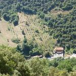  La Casa de Juansabeli as seen from the hills opposite