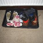 Shoe Tray - nice touch!!