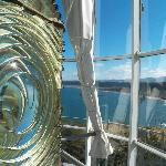 View from top of Cape Blanco Light