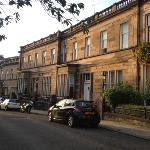  Cleveden Crescent where the apartments are situated