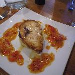  Swordfish with delicious hot sauce