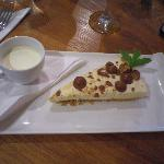 Moorish Malteser & vanila cheesecake
