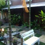  Garden in front of your room