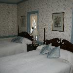 Room 9, two double beds