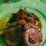  stuffed lamb with provenal vegetables,delicious!