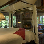 A suite with forest and lakeview