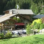  The Chalet and gardens