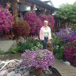  Annelies in her beautiful garden