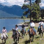 Horse Back Riding at Elk Point Lodge