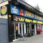 Junior Brown's UV Crazy Golf and Balladium