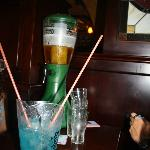 Blue Lagoon Pitcher and Beer Tower
