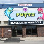 U-Puttz Black Light Mini-Golf