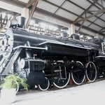 FEC 153 Steam Locomotive