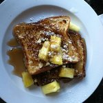 Tropical Sweetbread French Toast