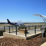 Outdoor Airport Viewing Platform