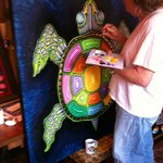 Turtle painting, prints are now available!