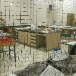 Mesa Community College fossile preperation laboratory