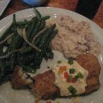 fried flouder w/green beans and mushroom risotto, The Basics