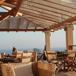Akrotiri Cafe north-west Corfu