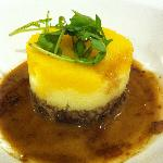 Haggis Neeps and Tatties in the hotel restaurant