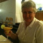  Enjoying a &quot;made from scratch&quot; Mango Daiquiri.&quot;