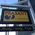 Peasant. A Simple Feast