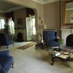 Front parlor of Burr house