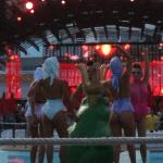 pool party at Ushuai Ibiza