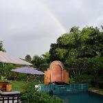  Rainbow over the Pool