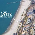Located on a nice wide sandy beach & the Gulf of Mexico.