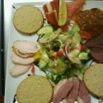  smoked Scottish platter starter .