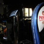 Peroni on draught