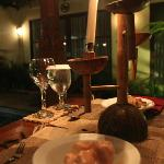 Candle Light Dinner @ villa