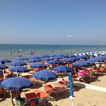  spiaggia dell&#39;Hotel Parrini